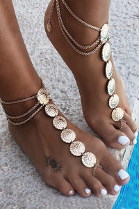 Carving Anklet Chain