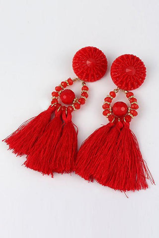 Bohemia Tassels Earrings