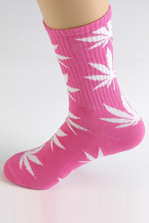 Maple Leaf Couples Socks