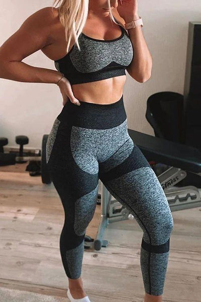 Seamless Bra Leggings Set