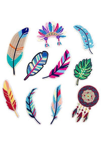 Feather Leaf Applique
