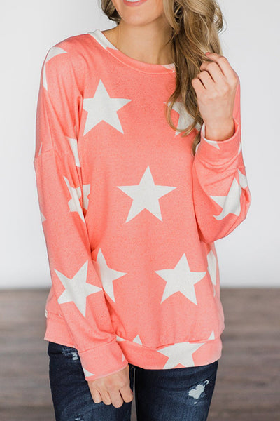 Star Long Sleeve T Shirt