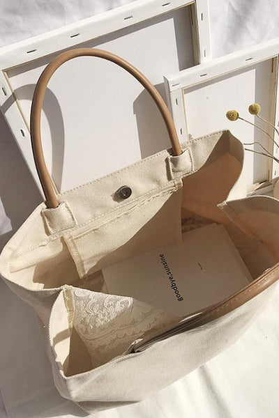 Shoulder Canvas Tote Bag