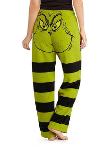 Monstre Stripe Print Pants