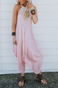 Drape Loose Jumpsuit