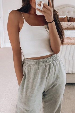 Solid Slip Yoga Top