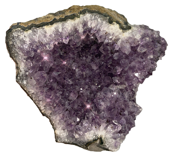 Amethyst Cluster - Large - Unique crystal that can bring peace and protection to your home - Chakra Palace
