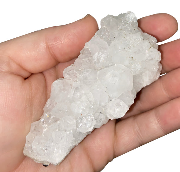 Apophyllite Cluster - Medium Crystal Healing Stone - Wonderful for healing, soothing, and high vibrations! - Chakra Palace