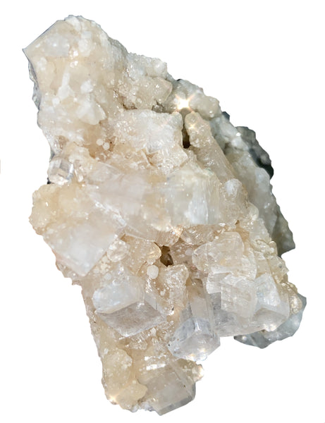 Apophyllite Cluster - Crystal Healing Stone - Wonderful for healing, soothing, and high vibrations! - Chakra Palace