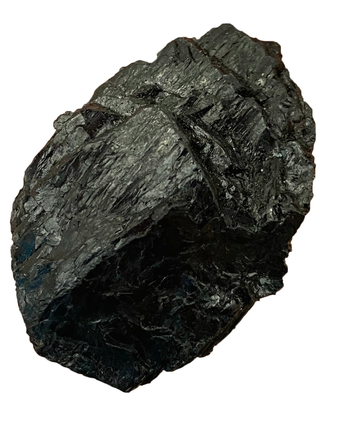 Black Tourmaline - x1 Raw Crystal - Wonderful for repelling & blocking negative energies & psychic attack - Chakra Palace