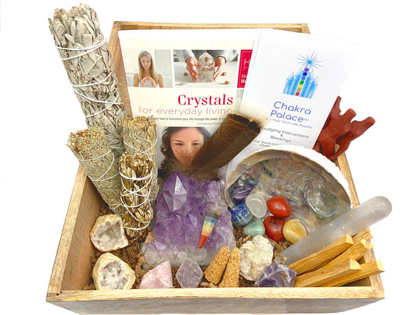 Premium Crystal Healing Kit - 33 Pieces to bring positivity and peace into your life - Crystals for sale!