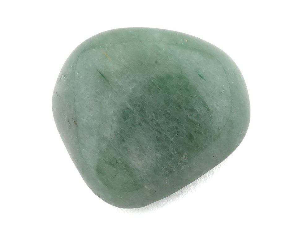 Green Aventurine Tumbled Stone x1 - Heart Chakra Healing Crystal - Perfect for love, matters of the heart, & removing blockages in your energy field