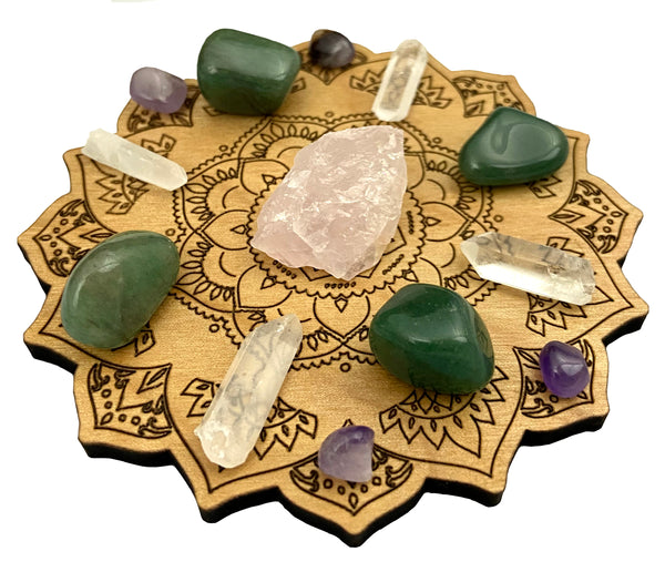 Crystal Grid for Love