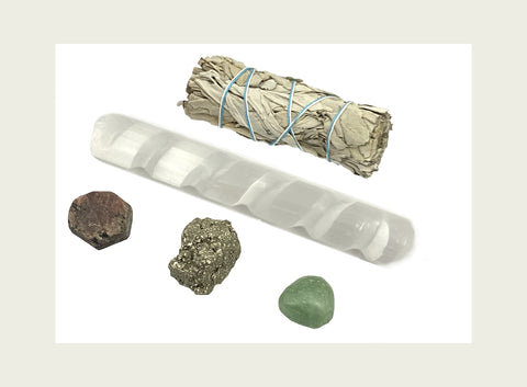 Healing Crystal Guide for Abundance & Prosperity Kit - Bring abundance, money, & success into your life