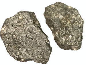 Pyrite - x1 Raw Crystal - Wonderful for blocking negative energies, luck, & protection