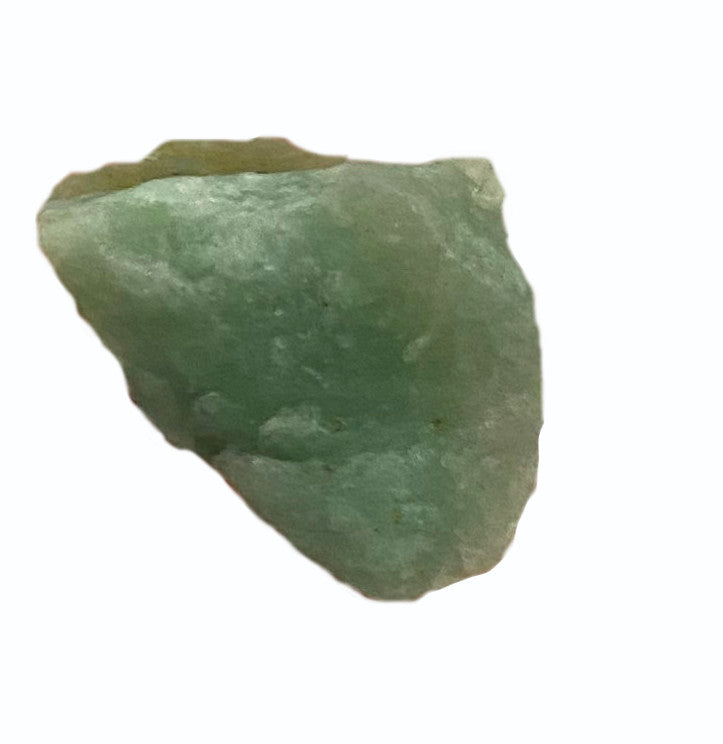 Raw Green Aventurine x1 - Heart Chakra Healing Crystal - Perfect for love, matters of the heart, & removing blockages in your energy field