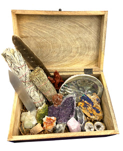 Premium Crystal Healing Kit - 18 Pieces to bring positivity and peace into your life