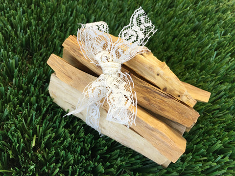 Palo Santo Smudge Sticks - 10 Pieces - Perfect for smudging, protection, & removing negativity - Genuine Holy Wood - Goes great with Sage