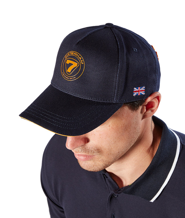 Caterham Cap Navy and Orange