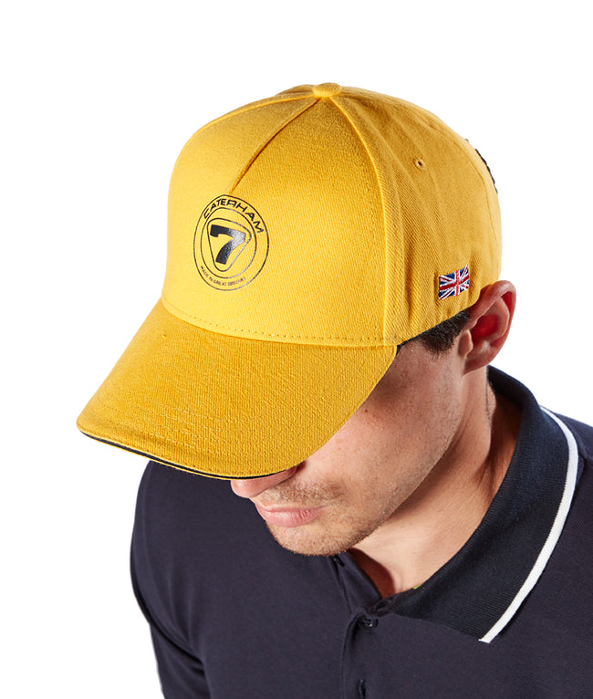 Caterham Cap Yellow