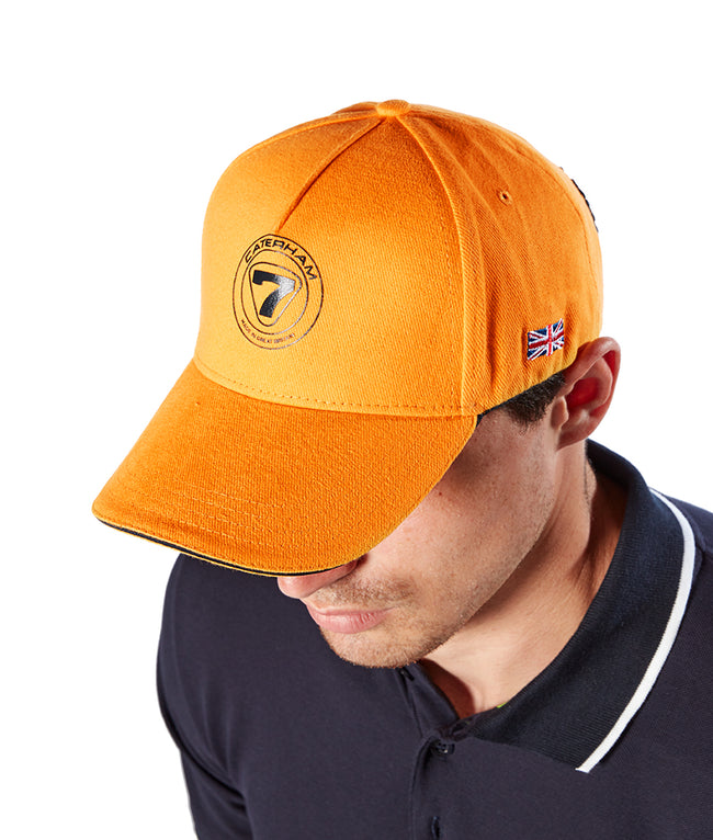 Caterham Cap Orange