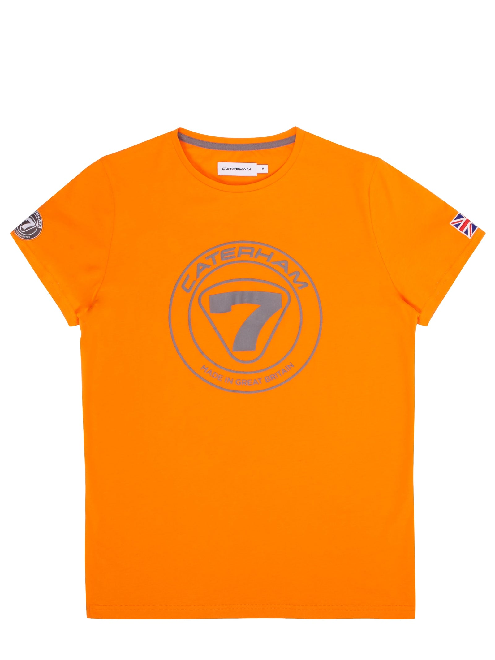 Caterham 7 Tee Orange