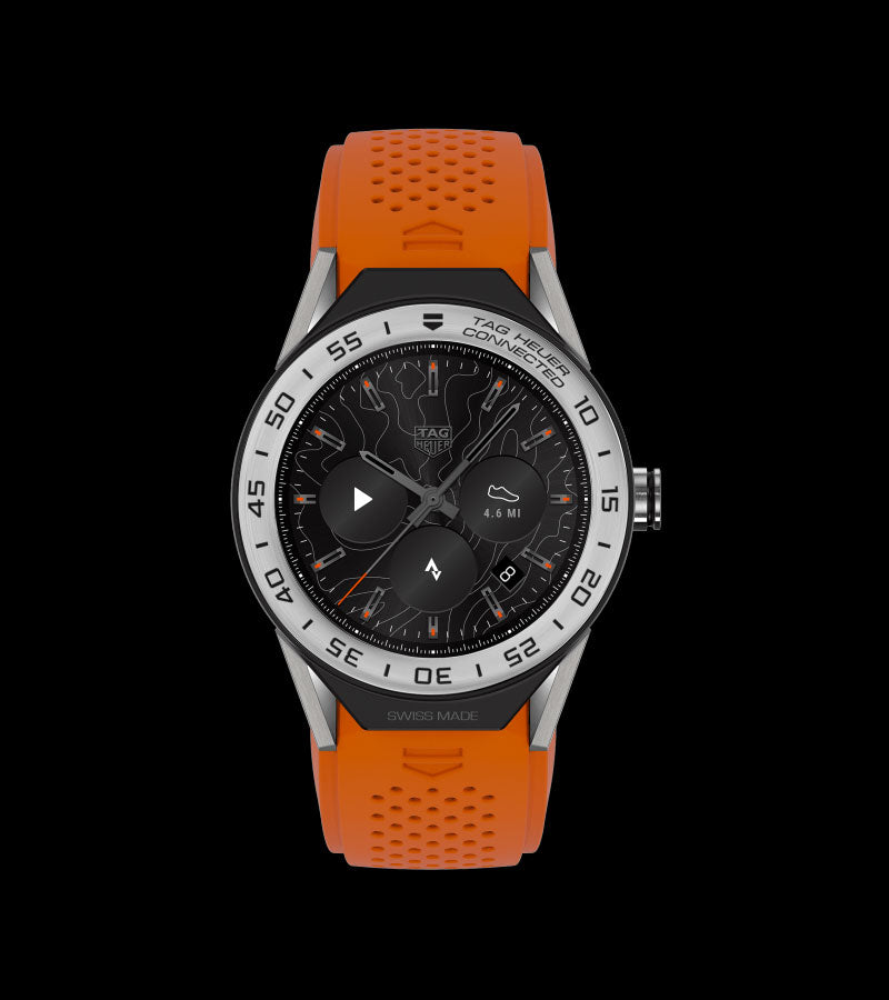 The classic contemporary  sports watch inspired