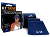 KT Tape Cotton Navy Elastic Therapeutic Sports Tape for Common Sports Injuries - Precut
