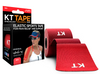KT Tape Cotton Original Red Elastic Therapeutic Sports Tape  for Common Sports Injuries - Precut