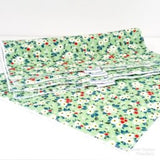 Green Ditsy Floral Washable Kitchen Roll