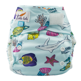 Tickle Tots All in Two Washable Cloth Nappy