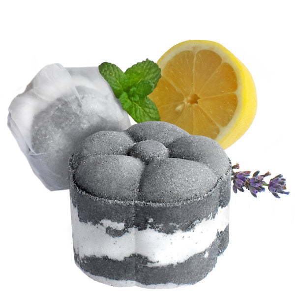 Foaming Shower Bomb Charcoal Detox