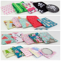 Pocket Mirror with Matching Pouch