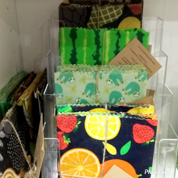 Peyote Beeswax Wraps Multipack