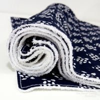 Navy and White Turtle Washable Kitchen Roll