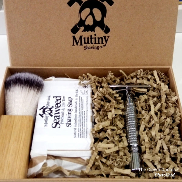 Mutiny Shaving Plastic Free Shaving Kit