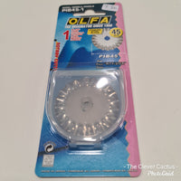 Olfa Rotary Cutter 45mm Replacement Pinking Blade