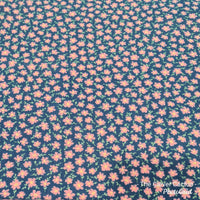 Rolled Changing Mat flower print fabric The Clever Cactus sustainable eco-friendly