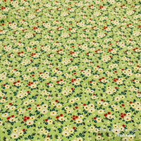 Rolled Changing Mat wildflower print fabric The Clever Cactus sustainable eco-friendly