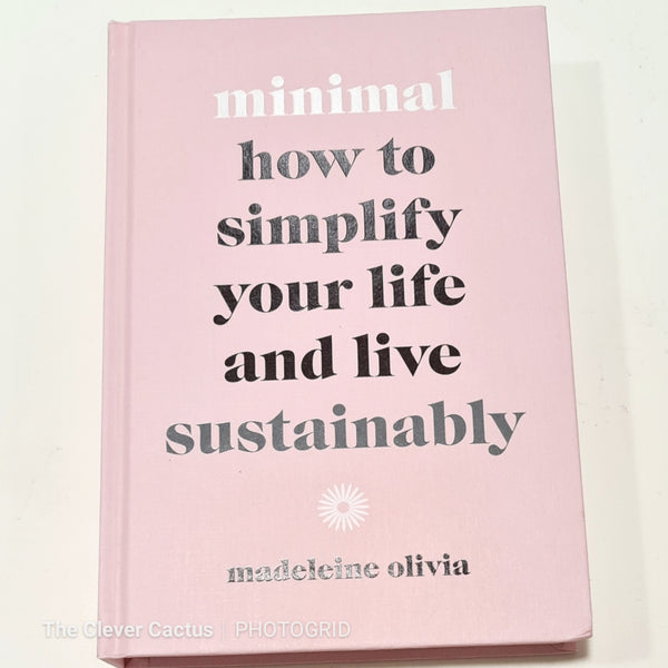 Minimal Sustainable Book The Clever Cactus