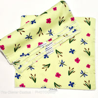 Green Floral Dragonfly Washable Kitchen Roll