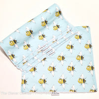 Sky Blue Bee Washable Kitchen Roll