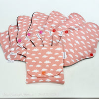 CSP Cloth Sanitary Pad Starter Pack Standard Size The Clever Cactus fabric sustainable eco friendly