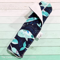 Peyote Collection - Kitchen Roll whale print The Clever Cactus sustainable eco-friendly