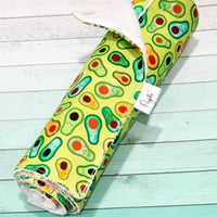Peyote Collection - Kitchen Roll avocado print The Clever Cactus sustainable eco-friendly