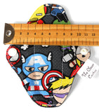 Petite Mini Daily Liner Pack of 2 eco friendly sustainable superhero marvel Avengers fabric print The Clever Cactus
