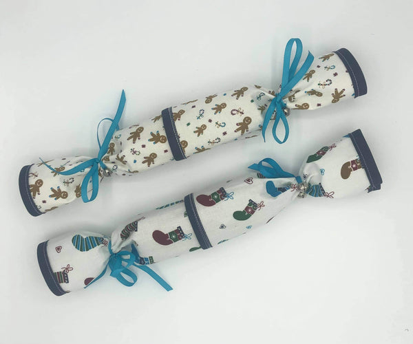 Reusable Fabric Christmas Crackers