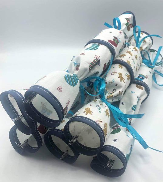 Reusable Fabric Christmas Crackers eco-friendly sustainable The Clever Cactus