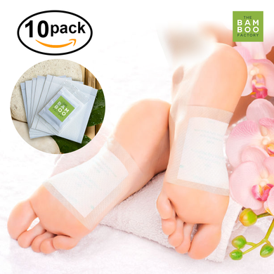 BAMBOO VINEGAR HERBAL DETOX FOOT PADS