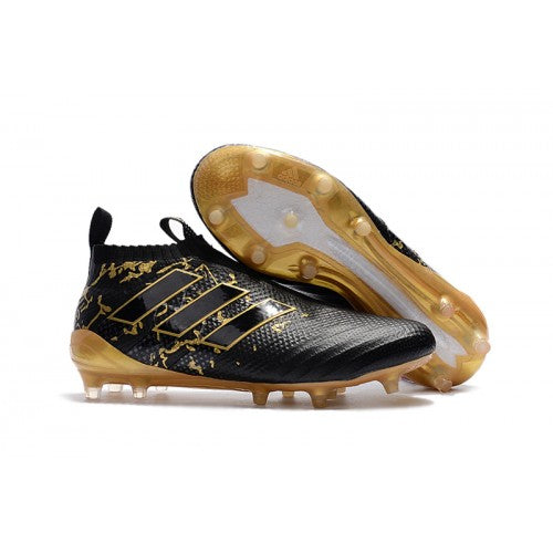 timeless design 70371 f0a11 Adidas Ace 17+ Purecontrol FG Soccer Cleats Black Golden